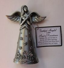 a Angel of Remembrance FAITHFUL FIGURINE Ganz sympathy condolence loss loved one