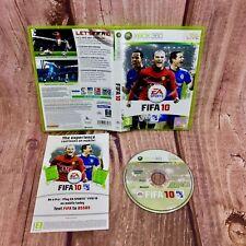 Xbox 360 Jeu FIFA 10 Microsoft Jeu vidéo EA Sports Football soccer Disc
