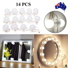 AU 14X Makeup Mirror Vanity LED Light Blubs Kit Hollywood Dressing Table Fixture