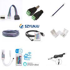 2Pin 4Pin 5Pin Luz de Tira Conector Para RGB red, green, Azul y Blanco LED Clip Cable Conector