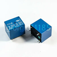 US Stock 10pcs Mini 9V DC Power Relay SRD-9VDC-SL-C PCB Type