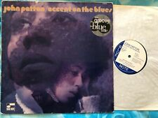 JOHN PATTON - ACCENT ON THE BLUES - UK BLUE NOTE LC0133 - A1/B  - LP