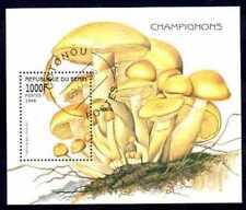 Champignons Bénin (7) bloc oblitéré