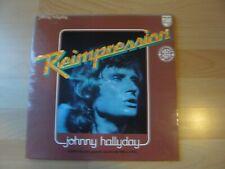 JOHNNY HALLYDAY 1961-1976 HITS ALBUM 33T DISQUE VINYL