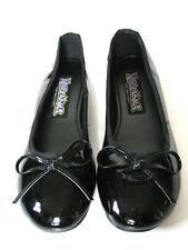 Cute Funtasma Shiny Black Classic Ballet Bow Flats Slippers Cosplay Anime 5