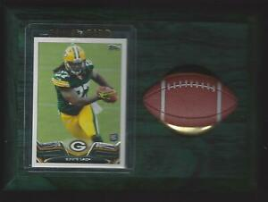 2013 Topps Football #406 Eddie Lacy Green Bay Packers Football Plaque