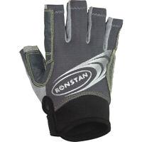 Ronstan Rf4880Xl Sticky Race Gloves Cut Fingers Grey X-Large