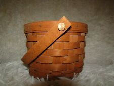 Longaberger 1989 Small Fruit Basket. Used. In good condition.