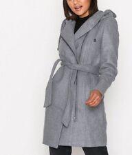 OBJECT Objjolie Coat Wollmantel Gr. 40 L Damen Kurzmantel grau A6483