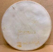 40s 50s Vintage 20-Inch CALF SKIN Bass Kick Drum Head Calfskin Swing Era No Name