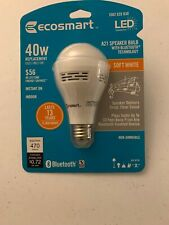 Ecosmart LED A21 Speaker Bulb With Bluetooth Technology 40 Watt Equivalent