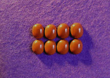 Red Jasper Cabochon collection 12 mm x 10 mm ovale, 34.60cts, réf BG-A5