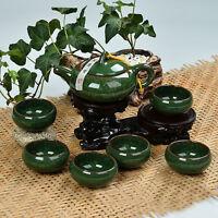 Quality 7 pcs/lot China Dehua Colorful ceramic cup Binglie cup Beauty tea sets