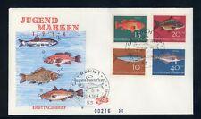 BUND Nr.412-415 SCHMUCK-FDC ESST BONN 10.4.1964 FISCHE ME 22,-++ (120174)