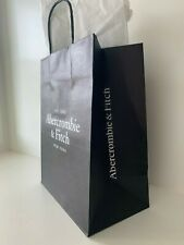 """New ABERCROMBIE & FITCH A&F 10x8"""" Store Shopping PAPER Tote BAG+GIFT Wrap Tissue"""