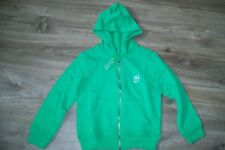 United Colors of Benetton-boys green cotton hoodie.6/7y(120 cm-S).BNWT