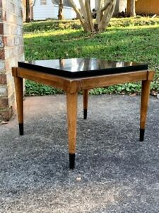 Lane Acclaim Accent Table With Black Top