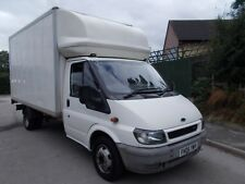 FORD TRANSIT LUTON BOX VAN LWB 35OOKG  135 PSI 6 SPEED 2006 160,000 MILES VGC