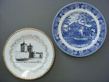 St Augustine, Fla. The Old City Gates & Oldest House (2 different Plates)