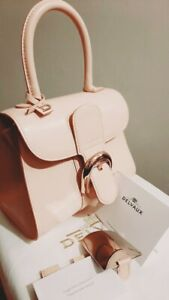 Authenitc Delvaux Brilliant Pink/Rose Colour Size Mini PM