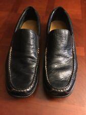 Cole Haan Tucker Venetian Black Leather Slip On Driving Loafers Men's SZ 13 M