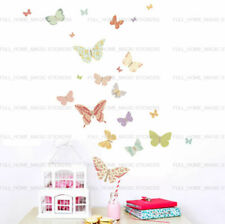 25 Butterflies Wall Stickers Home Decal Baby Nursery Girls Room Wall Decal