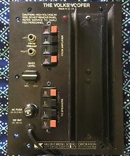 Vintage M&K Miller & Kreisel Volkswoofer 1B  Power Amplifier - Subwoofer