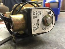 """OMEGA ENGINEERING SV204 1"""" 120VAC Normally Closed  2-230 Psi Solenoid Valve"""