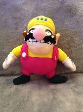Super Mario Plush Teddy - wario Soft Toy - Size:30cm - NEW