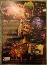 Jak 3 Poster Ad Print Playstation 2