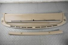 JAGUAR DAIMLER XJ40 XJ6 REAR LEATHER PARCEL SHELF BACK SUN BLIND COVER DOESKIN