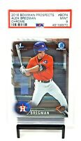 2016 Bowman Chrome 1st RC Card Astros ALEX BREGMAN Rookie Football Card PSA 9