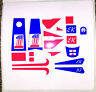 EVEL KNIEVEL STUNT CYCLE STICKERS!! NOW (2) SETS FOR THE PRICE OF ONE!!
