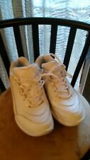 Therashoe TS Sport Women's White Leather Upper Sneakers - Size 8.5 M - Used L@@k