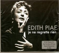Edith Piaf - Je Ne Regrette Rien [The Best Of / Greatest Hits] 2CD NEW/SEALED