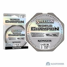 150m ANGELSCHNUR STEELON WORLD CHAMPION FLUOROCARBON COATED LINE MONOFILE SCHNUR