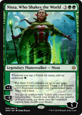 MTG - War of The Spark  - Nissa, Who Shakes the World - x4 NM