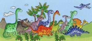Bothy Threads Cross Stitch Kit - Dinosaur Fun