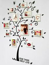 BRAND NEW! Family Tree Wall Sticker Photo Frame Quotes Art Decals Home Decor