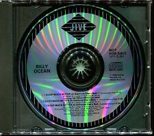 BILLY OCEAN - I SLEEP MUCH BETTER (IN SOMEONE ELSE'S BED) US PROMO MAXI CD [80]