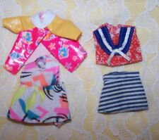 Vintage Lot of Barbie Kelly  doll clothes