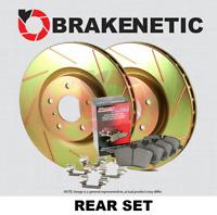 Hardware Kit PQ97571 POSI QUIET Semi-Met Disc Brake Pads FRONT + REAR SET