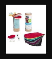 NIB Cate & Levi Puppet Craft Sewing Kit, Giraffe ~ Machine Washable - Prem Wool