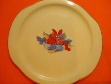 Universal Cambridge Calico Fruit Lug Handle Platter