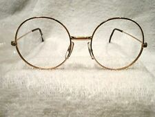 """ROUND GOLD 1970'S """"WIRE"""" FRAME --NEW & NEVER SOLD"""