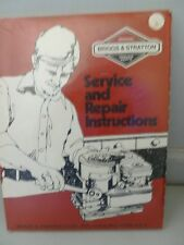 BRIGGS & STRATTON 1979 Small Engine REPAIR INSTRUCTION part #270962 mint in wrap
