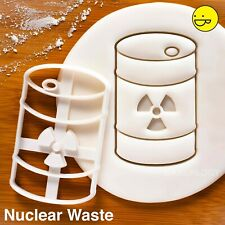 Nuclear Waste Cookie Cutter | Halloween Party science mad scientist radioactive