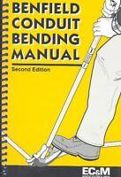 Benfield Conduit Bending Manual, Paperback by Benfield, Jack, ISBN 0872885100...