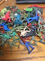 Army Men Rescue Firemen Soldiers Mixed Lot Bulk Plastic Toys Figures - 130+