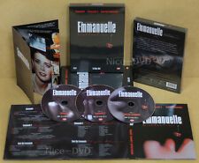 THE Emmanuelle Collection (3-DVD Disc) Ltd DIGIPACK BOX SET (New) Sylvia Kristel